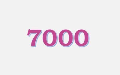 Flere end 7000 deltagere