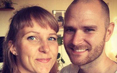 Tillykke til Louise og Jeppe fra København